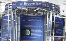 Ohio Displays Inc NASA Modular Truss System trade show displays