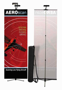 Summit Banner Stand - Front and Back plus Accessories