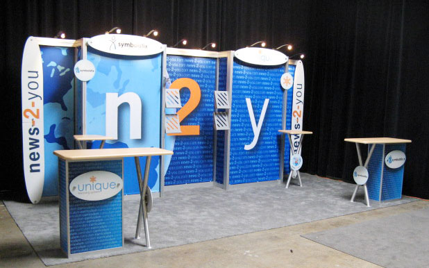 Ohio Displays designed News 2 You Velocity Modular Booth